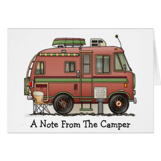 Travco Motor Home Camper RV Greeting Cards