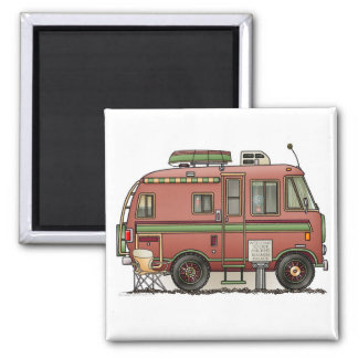 Travco Motor Home Camper RV Magnet