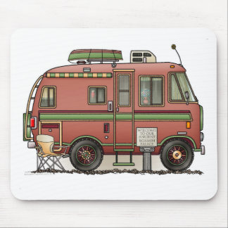 Travco Motor Home Camper RV Mouse Pad