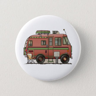 Travco Motor Home Camper RV Pinback Button
