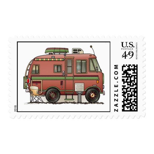 Travco Motor Home Camper RV Postage