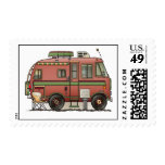 Travco Motor Home Camper RV Postage Stamps