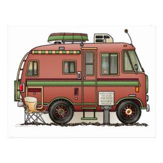 Travco Motor Home Camper RV Postcard