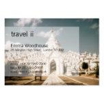 Travel 2 - Hsimbyume Paya Business Card