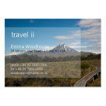 Travel 2 - Mount Tongariro Business Card