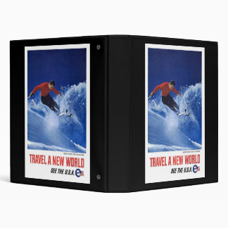 Travel A New World See The USA Binder