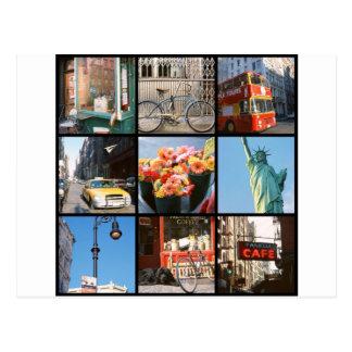 Travel abroad to NewYork Postcard