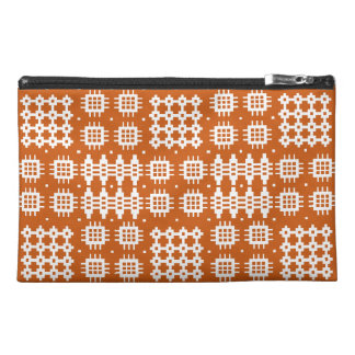Travel Accessories Bag Welsh Tapestry Pattern, Red