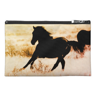 TRAVEL ACCESSORIES BAG WILD HORSES of UTAH