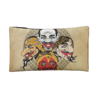 Travel Accessory Bag puppet characters