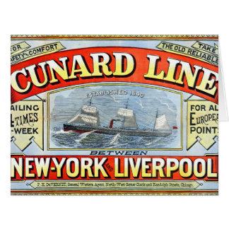 Travel Ad 1875 Card