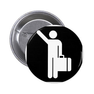 Travel Addict! Cool products! Pinback Button