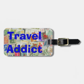 Travel Addict - luggage tag
