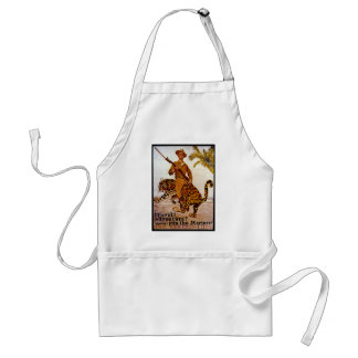 Travel? Adventure? Join the Marines! Adult Apron