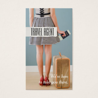 Travel Agency, Agent Business Card