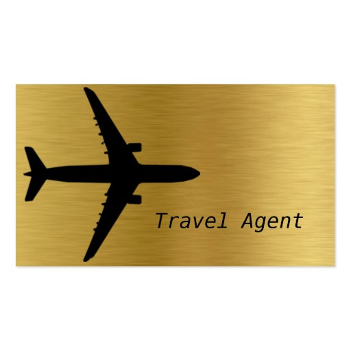 travel agency  agent  vacation business card