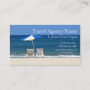 Travel agency business cards zazzle travel agency business card colourmoves