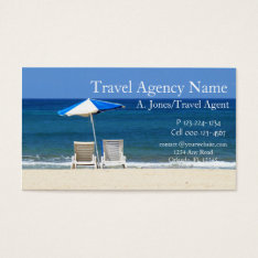 Travel Agency Business Card at Zazzle