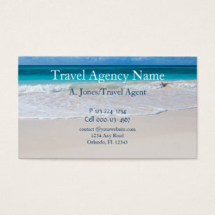Travel agency business cards templates zazzle travel agency business card colourmoves Image collections