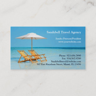 Travel agency business cards zazzle travel agency business card reheart Gallery