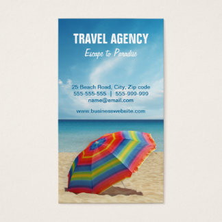 Travel Agency / Tour Operator business card