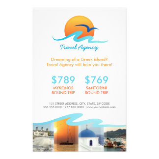 Travel Agency Tourism Tour Operator flyer