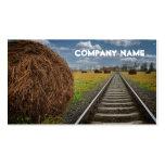 Travel Agency Train Tracks Business Card