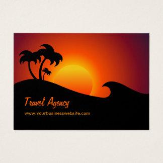 Travel Agency Tropical Island Business Card