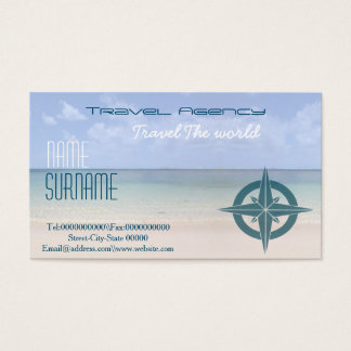 Travel agency, vacation rentals ..... business card