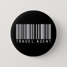 Travel Agent Buttons & Pins - No Minimum Quantity | Zazzle