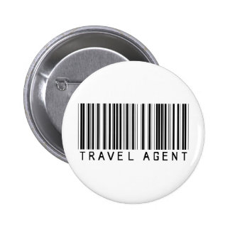 Travel Agent Barcode Pin