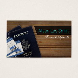 Travel Agent Business Card