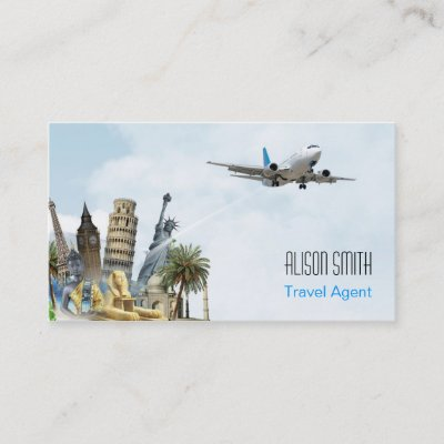 Travel agent cruise ship business card zazzle colourmoves