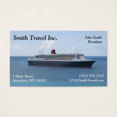 Travel Agent Business Card at Zazzle
