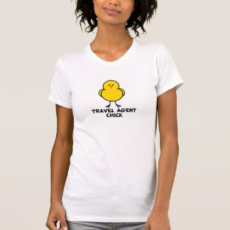 Travel Agent Chick Tee Shirt