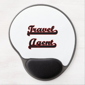 Travel Agent Classic Job Design Gel Mouse Pad