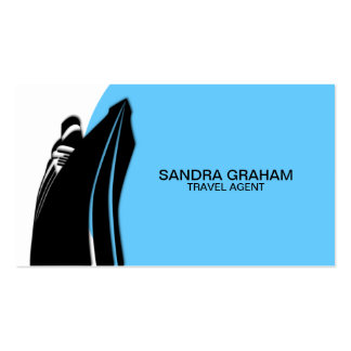 Travel Agent / Cruise Ship Business Cards