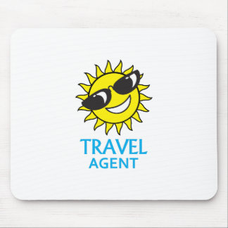 TRAVEL AGENT MOUSE PADS