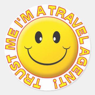 Travel Agent Trust Me Sticker