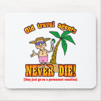 Travel Agents Mouse Pad