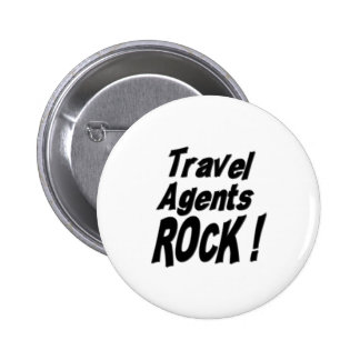 Travel Agents Rock! Button