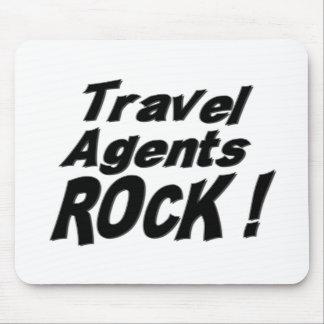 Travel Agents Rock! Mousepad