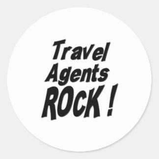 Travel Agents Rock! Sticker