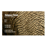 Travel agents, Safari tours, taxidermists, vets Double-Sided Standard Business Cards (Pack Of 100)