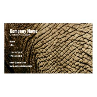 Travel agents, Safari tours, taxidermists, vets Business Card