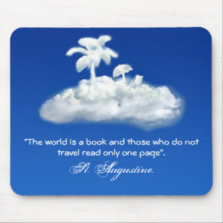travel and adventure mouse pad