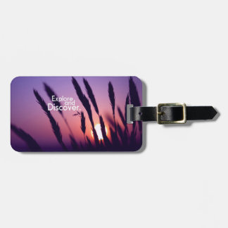 Travel and Discover Luggage Tag