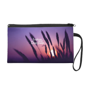 Travel and Discover Wristlet