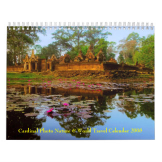Travel and Nature Calendar 2008 by Cardinal Photo
