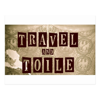 Travel and Toile New Logo Postcard